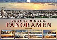 Europaeische Metropolen - Panoramen (Wandkalender 2022 DIN A4 quer): Eindrucksvolle Metropolen Europas in aussergewoehnlichen Panoramen. (Monatskalender, 14 Seiten )