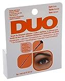 Duo Brush-On Striplash Adhesive Dark Tone 0.18 Ounce (5.3ml) (2 Pack)