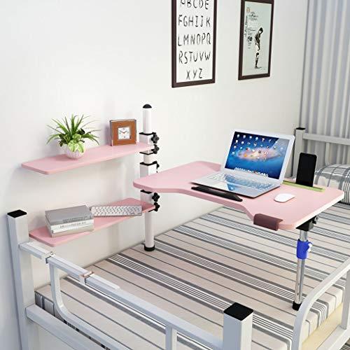 YIXIN2013SHOP Mesa Ordenador Portatil Escritorio de Cama de elevación Ajustable Dormitorio Plegable de Mesa pequeña Mesa de computadora portátil Escritorio del Regazo (Color : A)