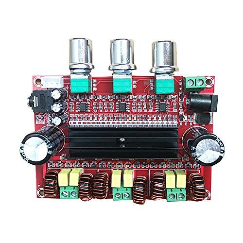 Pnxq88 - Amplificador de señal de 80 W x 2 + 100 W 2.1 Módulo TPA3116D2 Amplificador de potencia Digital Audio Home Cinema Subwoofer Mini 4 – 8 ohmios DC12 – 24 V Accesorios Receptor de altavoz
