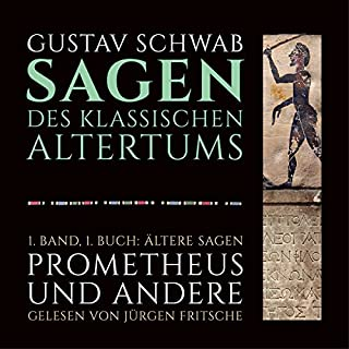 Ältere Sagen - Prometheus und andere Titelbild