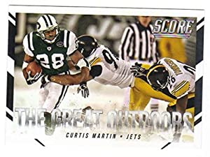 2015 Panini Score The Great Outdoors #8 Curtis Martin NY Jets Card NM-MT