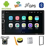 Android 2 Din Car Stereo GPS Navigation,7 inch Car Multimedia MP5 Player USB SD AUX Input,Car Audio...