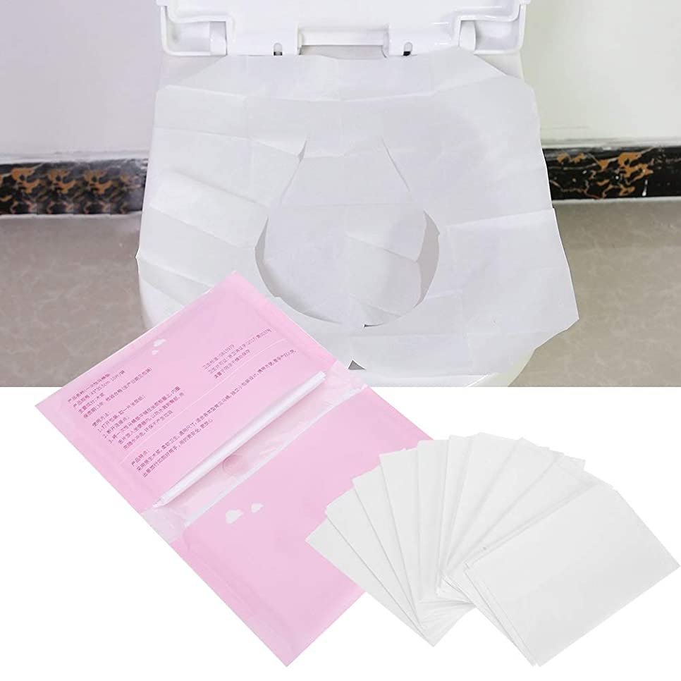 好むマント商品トイレットシートペーパー、旅行のための5つの袋の使い捨て可能な分解可能なトイレットペーパーペーパー、10pices / bag