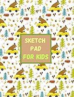 Sketch Pad for Kids-Drawing Pad Kids Large- Large Notebook for Drawing -Kids Sketch Pads for Drawing-Sketch Book 8x5- Sketching Pad