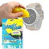 DURAGADGET Potente Gel Limpiador para LG Watch Sport, Watch Style/MGCOOL Band 2 / Nixon Mission/Tissot Racing Touch/Becker Tiger