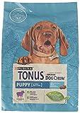 Purina Tonus Dog Chow Puppy Croquettes avec Agneau, 4 Sacs de 2,5 kg