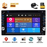 Double Din Car DVD Player 6.2 Inch Touch Screen Car Stereo 2 Din Car GPS Radio...