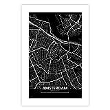 murando Poster XXL Stadt Amsterdam 60x90 cm Bilder