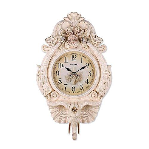 MEILING Horloge murale Continental Unique Côté Silencieux Salon Décoration Horloge de Bon augure Poche Montre Montre de Chambre (taille : 40 * 68CM)