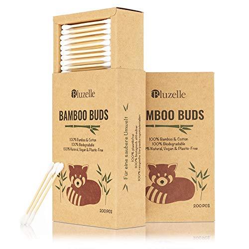 BLUZELLE [200 piezas] Bamboo Buds