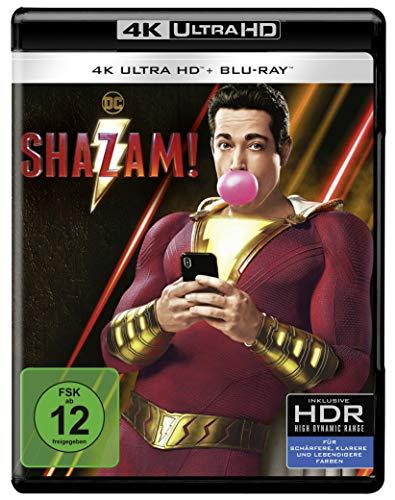 Shazam! 4K UHD [Blu-ray]