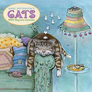 2020 Gary Patterson's Cats Magnetic Mount Wall Calendar