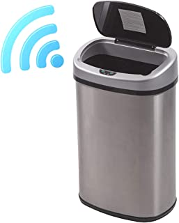 Best 13 gallon silver trash can Reviews