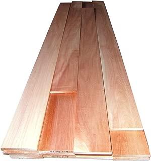 5 board feet of kiln dried, planed Spanish Cedar wood 1 inch thick PLANED