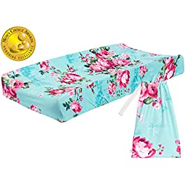 Posh Peanut Baby Changing Pad Cover Stretchy Bamboo Viscose, for Standard 16″ by 32″