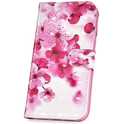 JAWSEU Compatible avec Coque LG K10 2017(EU) Cuir PU Portefeuille,Pochette Cuir à Rabat Housse de Protection 3D Rétro Créatif Motif Magnétique Stand Ultra Slim Flip Wallet Case,#8