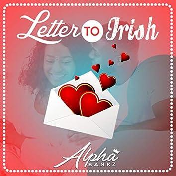Letter To Irish