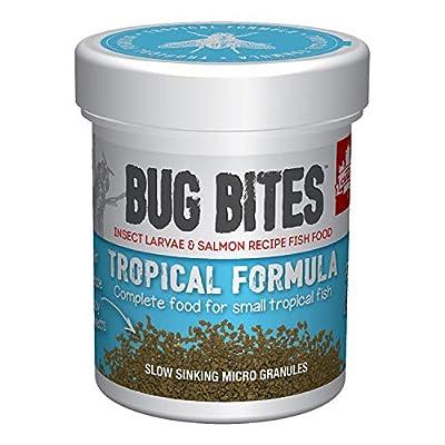 Fluval Bug Bites Tropical Micro Granule Fish Food, 0.0709 kg