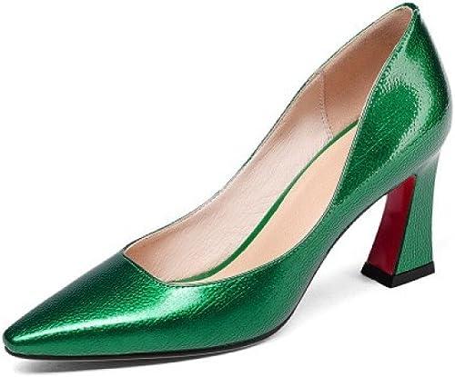 Zapatos De Boca Baja zapatos De Tacón Alto Tacón Puntiagudo zapatos De Cuatro Estaciones Moda Salvaje zapatos De Vestir Tacones Altos