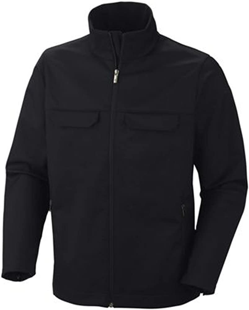 Columbia Men's Smooth Pursuit Softshell Tall Jacket