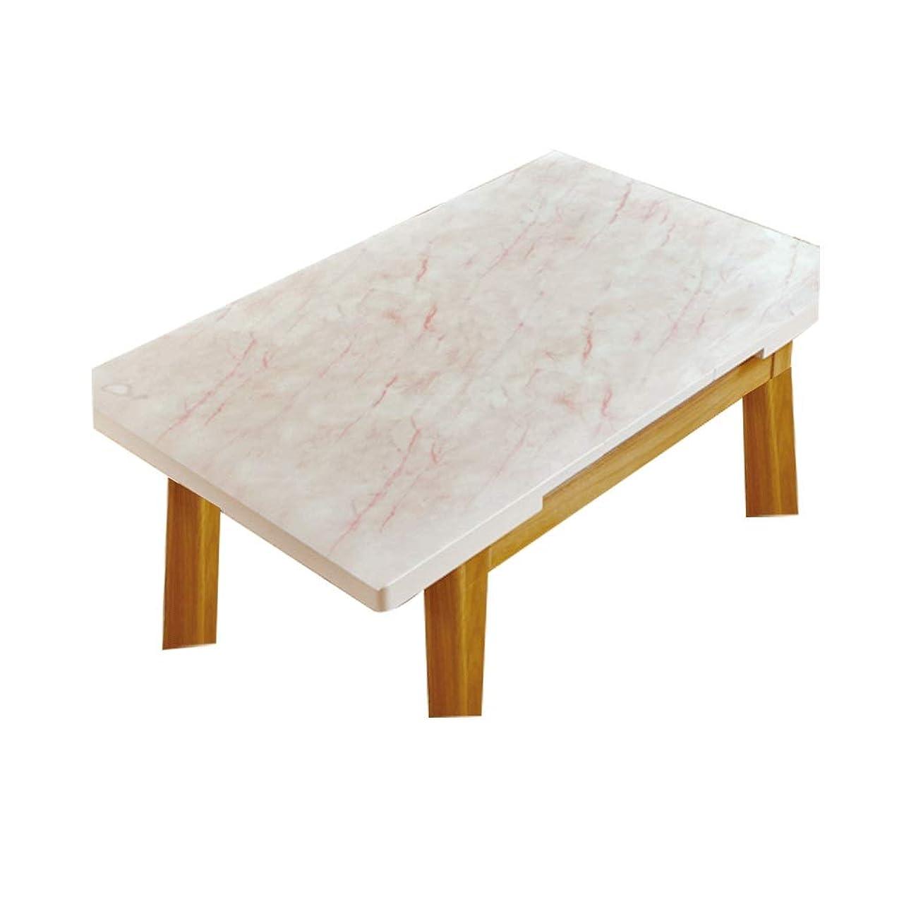 リストロードハウス岩LIGONG レストランのデスクトップカバー大理石の質感PVCソフトプラスチックガラステーブルマットテーブルクロスに適しテーブルコーヒーテーブルサイズ (サイズ さいず : 90*90センチメートル)