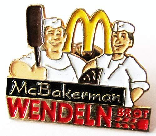Mc Donalds - McBakerman - Wendeln Brot - Pin 26 x 20 mm