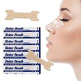 Max Plus 50 pcs Better Breath Nasal Strip - Anti-snoring Nose Strips makes