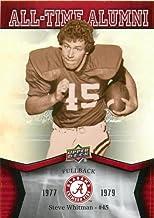 Best 2012 Upper Deck Alabama All Time Alumni #ATASW Steve Whitman - Football Card Review