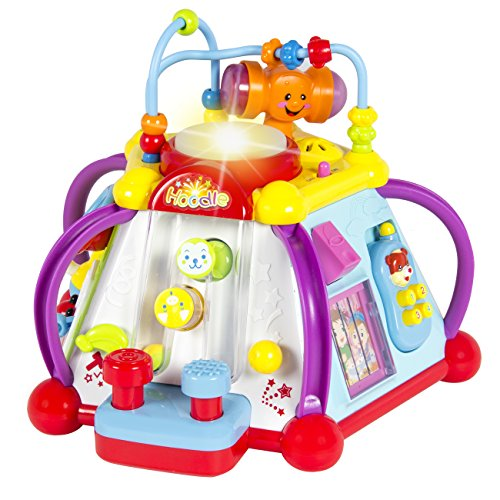 Liberty Imports 15-in-1 Musical Activity Cube Educational Game Play Center Baby Toddler Toy with Lights and Sounds for Early Learning and Development