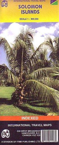 Solomon Islands: ITMB Asien & Ozeanien (International Travel Maps)