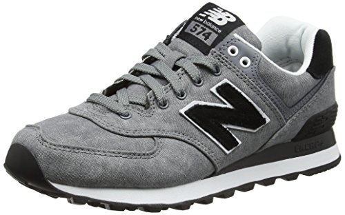 New Balance Damen 574 Textile Sneaker, Grau (Grey), 35 EU
