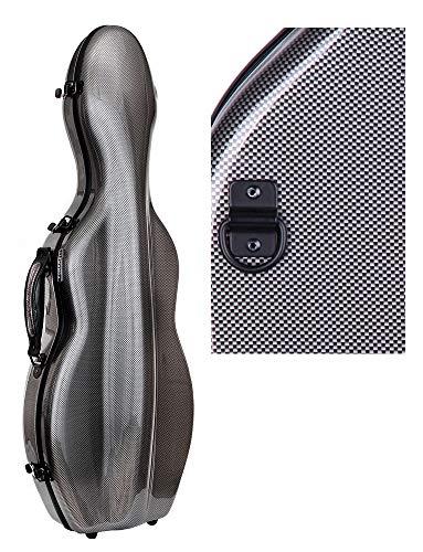 Originale Tonareli Custodia per violino 4/4 EDIZIONE SPECIALE VNF1018 GRIGIO GRAFITE + cartella portaspartiti – VENDITORE AUTORIZZATO