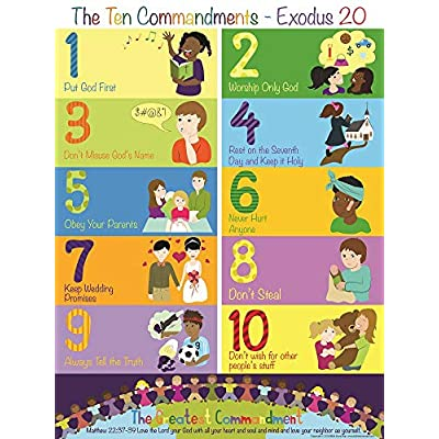 the ten commandments poster, End of 'Related searches' list