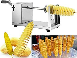 Cooking Tools Stainless Steel Spiral Cutter Potato Slicer Manual Twisted Potato Cuttting Batata Machine For Home Restaurant