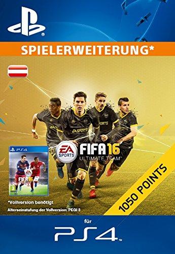 1050 FIFA 16 Ultimate Team Points [Zusatzinhalt][PS4 PSN Code - österreichisches Konto]