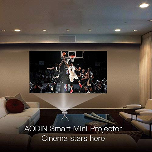 Aodin Mini Smart Android Pico Projector-Features with HDMI