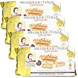 MILLEFOGLIE D'ITALIA Simple yet unique. Traditional yet timeless. With 192 flaky and delicate layers of puff pastry, a veil of premium Italian butter, and topped with a light apricot glaze, our classic Millefoglie d'Italia is the perfect crisp puff p...
