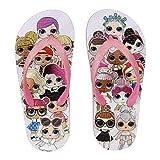 L.O.L. Surprise ! Zapatos de Playa y Piscina de Niñas | Zuecos para Niña con Muñecas Diva, Fancy, Rocker | Sandalias y Chanclas De Interior Y Exterior (32/33 EU, Chanclas)