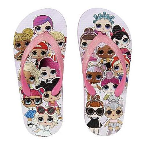 L.O.L. Surprise ! Scarpe Estive per Bambina con Bambole LOL Dolls Diva, Fancy, Rocker | Sandali per Ragazze da Spiaggia | Migliori Ciabatte Piscina, Zoccoli di Gomma Crocs (30/31 EU, Infradito)