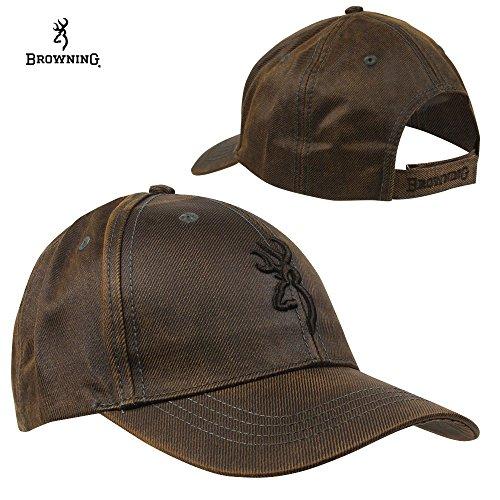 Browning Erwachsene Rhino Hide Brown Cap EINE GRÖßE Kappe, braun, One Size