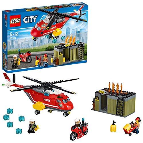 LEGO City 60108 - Feuerwehr-Löscheinheit, Kinderspielzeug