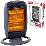 Best Halogen Heaters - Marko Electrical 1200W Portable Halogen Electric Heater 1.2kW Review