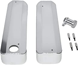 A-Team Performance Fabricated Chrome Valve Cover Coil Covers Compatible with LS GM Chevy Chevrolet Chrome