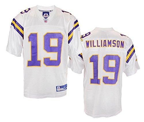 Minnesota Vikings Mens NFL Football Jersey Troy Williamson White (XX Large)