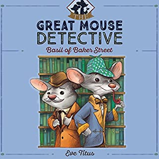 Basil of Baker Street audiobook cover art