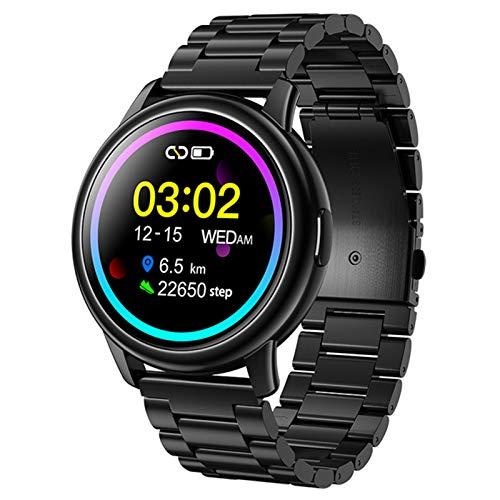 Ake LF28 Smart Watch IP68 Monitor De Ritmo Cardíaco Impermeable Deportivo Reloj Inteligente Hombres Adecuados para Android iOS 30 Días De Espera,B