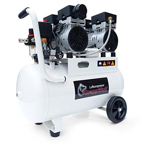 """KnappWulf Kompressor""""mucksmäuschenstill"""" Modell KW2050 8bar Druckluftkompressor 69dB - 5"""