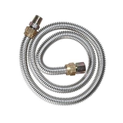 Watts Dormont 20-3132-18B Gas Dryer 1/2-Inch Diameter Connector