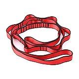 HUUATION Cuerda de Cadena de Nylon de la Cadena de Nylon con bucles de la Correa de la Correa de la Hamaca de Yoga(Climbing Rope 1)